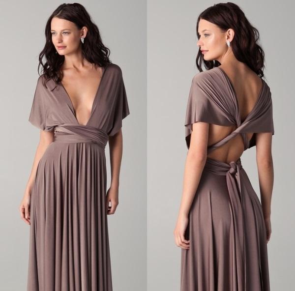 Шьем платье-трансформер. 21 способ надеть.