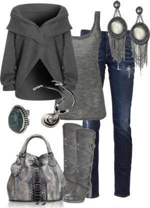Что носить зимой: комплекты одежды