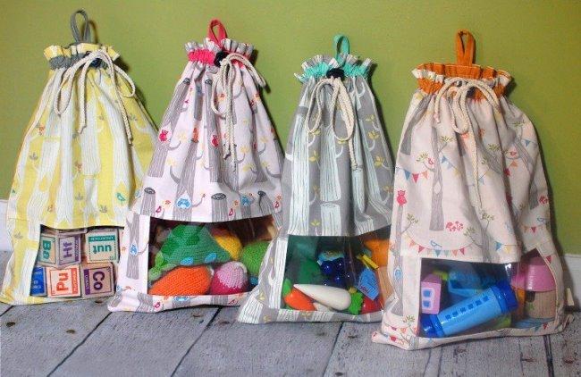 Как сшить рюкзачок для игрушек