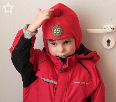 Шапка-шлем для малыша