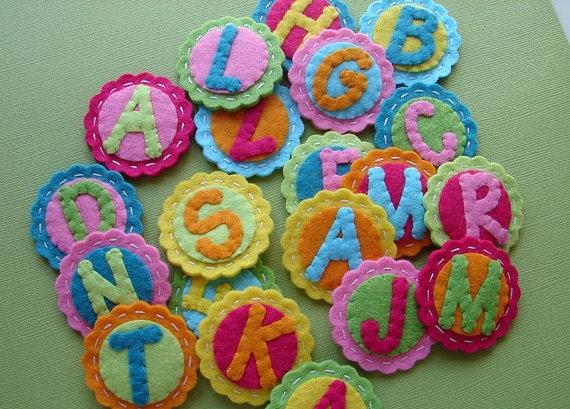 игрушки для детей своими руками, из фетра,