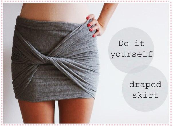 женская одежда, простые выкройки одежды, юбка за 5 минут, простая юбка, юбка просто