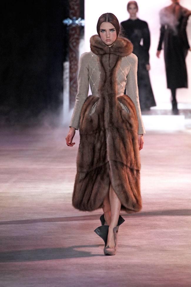 коллекция Ульяны Сергеенко, тенденции моды осень-зима, модные показы, красивая модная одежда,