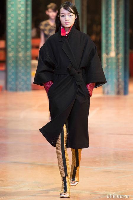 KENZO: модный показ осень-зима 2013-2014
