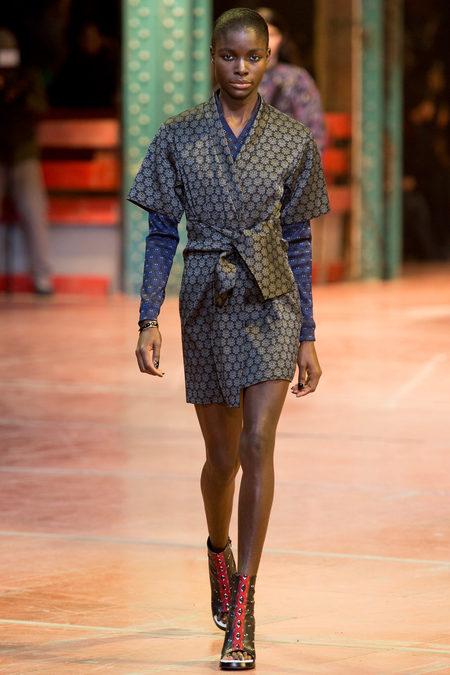 красивая модная одежда, модные показы, тенденции моды осень-зима, kenzo 2014
