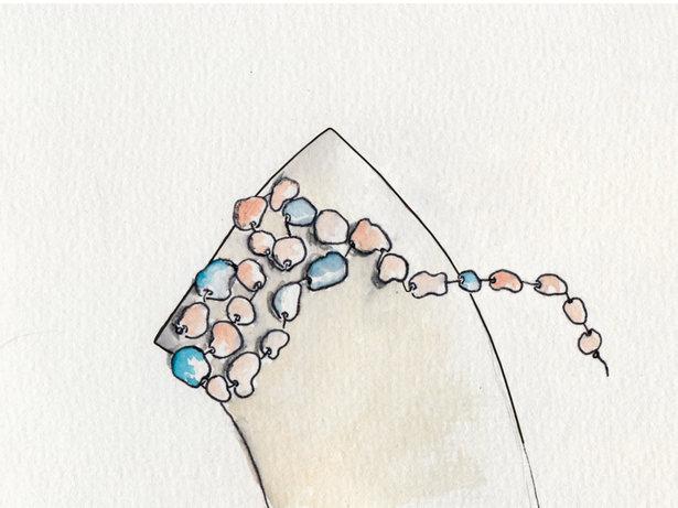 как сделать украшения своими руками, колье, ожерелье, колье своими руками