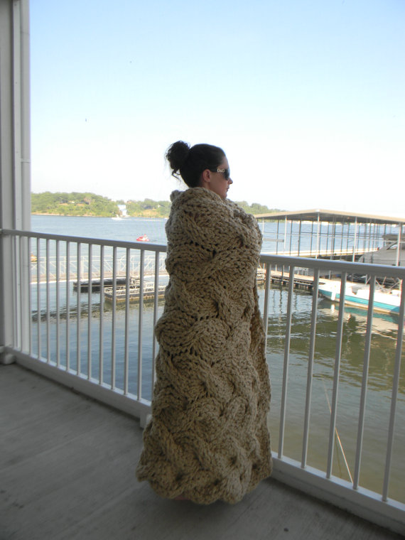 вязание, вязание для дома, полезное рукоделие, вязаные пледы и покрывала,