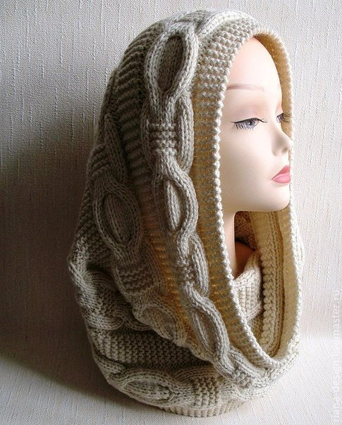 снуд, снуд спицами, вязаный снуд, вязаные головные уборы, вязание для девочек, вязание, вязание для женщин, вязание спицами,