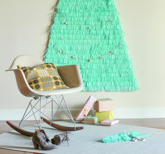 елка своими руками, елка на стену, елка из бумаги, декор для дома, праздничный декор, украшения своими руками для дома,