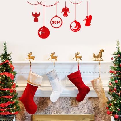 праздничный декор, декор для дома, украшения своими руками для дома, декоративные наклейки