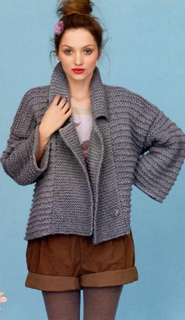 Схемы вязания женских моделей » Вязание, вязание спицами ...