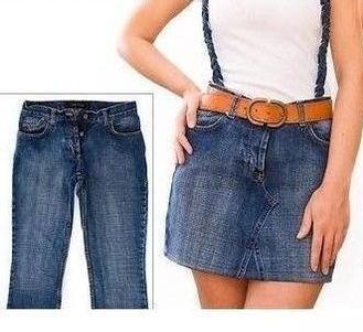 шитье, переделываем вещи, юбка из джинсов, как сшить юбку из джинсов