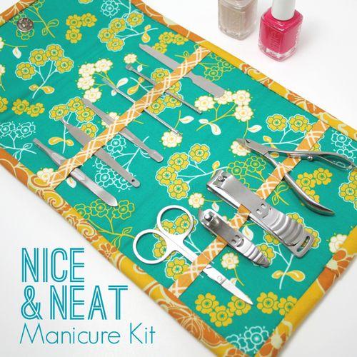 полезное рукоделие, полезные мелочи своими руками, шитье, шитье своими руками, пэчворк изделия, Кофр для маникюрного набора в стиле пэчворк