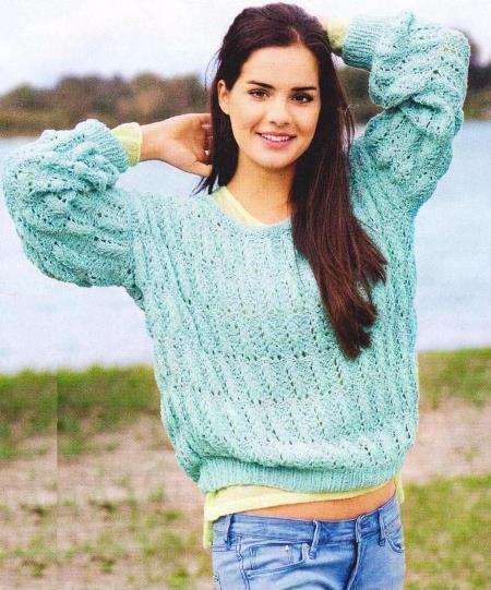вязание, вязание для женщин, вязание спицами, пуловер свитер,