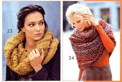 вязание, вязание для женщин, вязаные шарфы схемы,