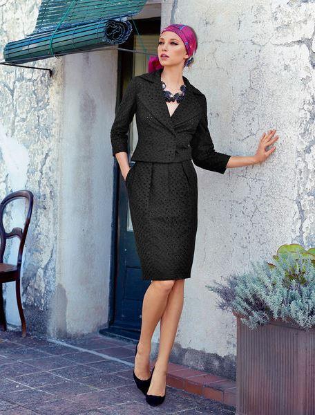 Бурда моден фото платьев для полных