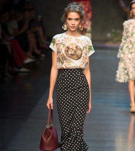 Тенденции моды Весна-Лето 2014: Carolina Herrera, Alberta Feretti и Dolce & Gabbana