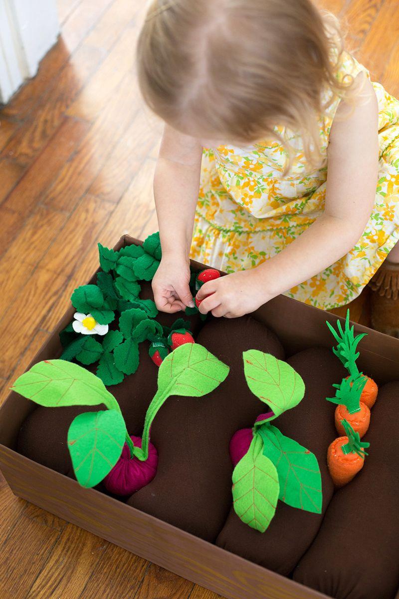 Игра для детей «Садовая грядка»