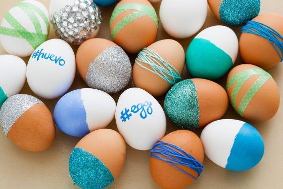 Как украсить пасхальные яйца, Как покрасить пасхальные яйца, праздничный декор, декор для дома, полезные мелочи своими руками,