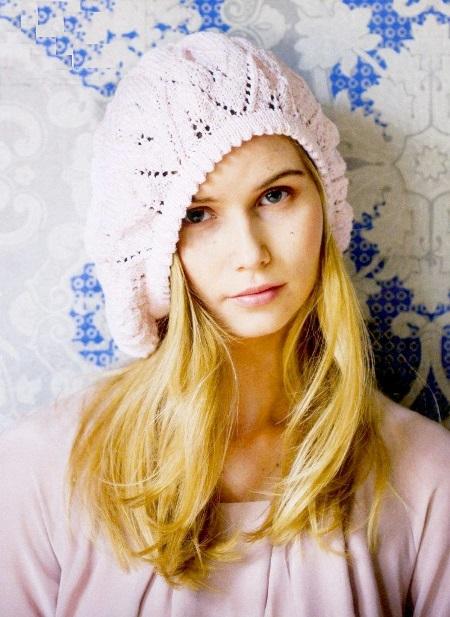 вязание, вязание для девочек, вязание для женщин, вязание спицами, шапка, вязаный берет