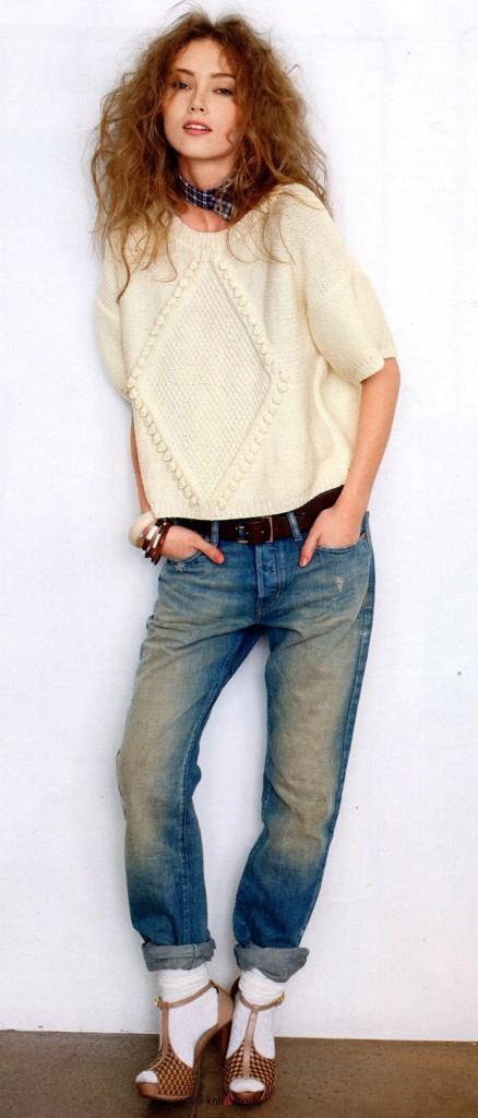 пуловер свитер, вязание, вязание для женщин, вязание спицами,