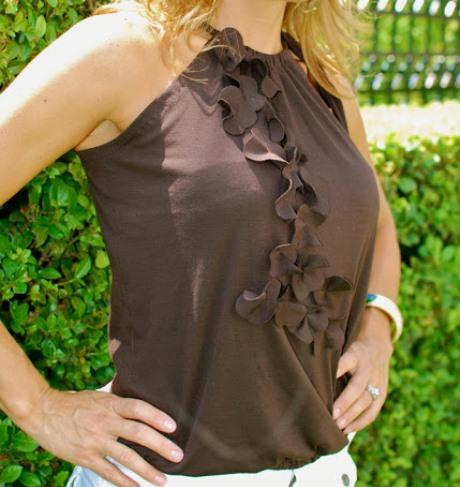 декор одежды своими руками, переделываем вещи, полезное рукоделие, как переделать футболку