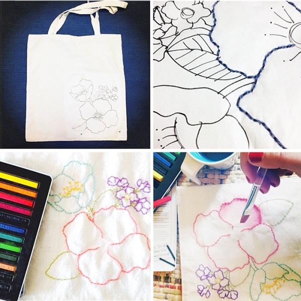 переделываем вещи, сумка своими руками, как украсить сумку