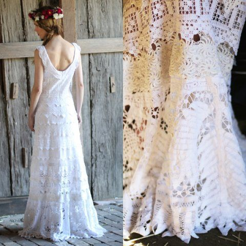 свадебные кружевные платья фото, свадебные кружевные платья, что носить летом, вязание для женщин, вязание крючком,
