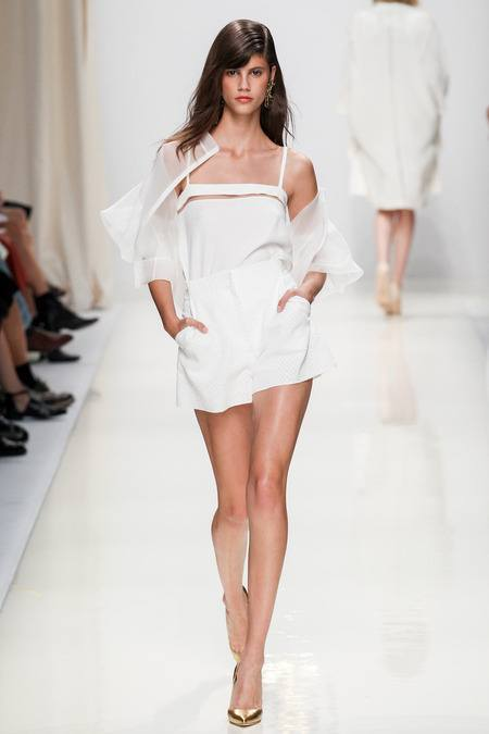 модные тенденции, тенденции моды весна лето, коллекция Валентина Юдашкина весна лето 2014