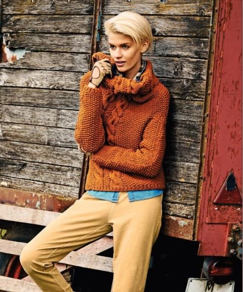 вязание, вязание для женщин, вязание спицами, пуловер свитер