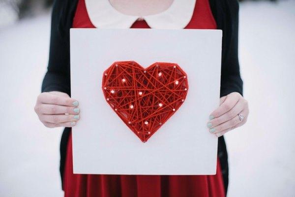 сердце в технике изонить, подарок на день святого валентина, декор для дома, подарки своими руками,