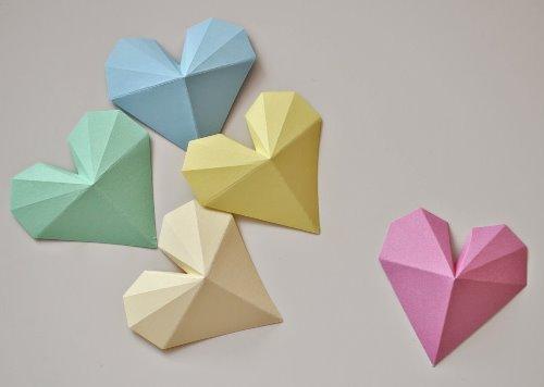 Валентинки оригами. 7 фото мастер-классов