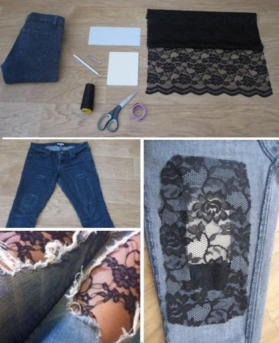 Как сделать модные джинсы своими руками видео - Колеса в Томске