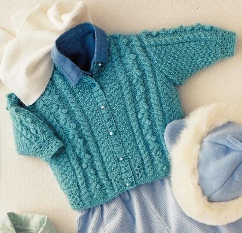 детский вязаный жакет, вязание для детей, вязание, вязание для новорожденных, вязание для девочек, вязание для мальчиков, вязание спицами,
