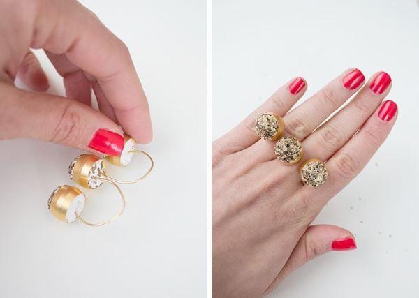 украшения своими руками, кольцо своими руками, необычное кольцо
