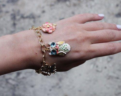 браслет своими руками, оригинальный браслет, украшения своими руками
