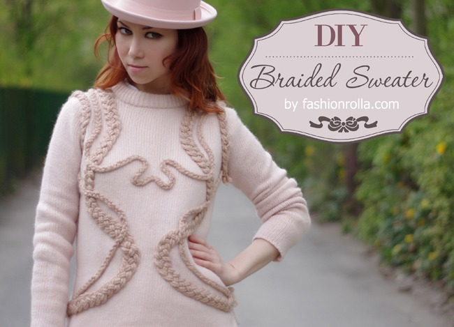 украшение одежды, как украсить свитер, декор одежды своими руками, свитер,
