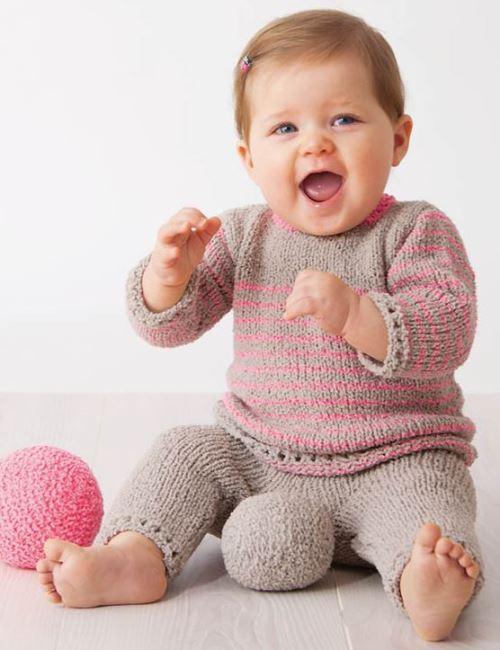 вязаный костюм для малыша, вязание, вязание для детей, вязание для новорожденных, вязание спицами,