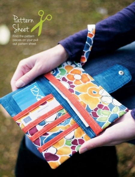 пэчворк идеи, Кошелек пэчворк, поделки из ткани, пэчворк, шитье своими руками, шитье, полезное рукоделие,