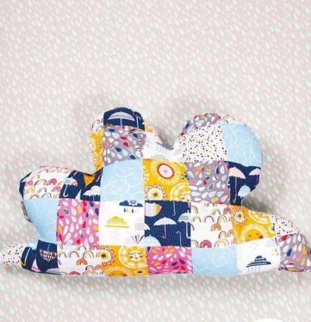 пэчворк идеи, Декоративная подушка пэчворк, поделки из ткани, пэчворк, шитье своими руками, шитье, полезное рукоделие,