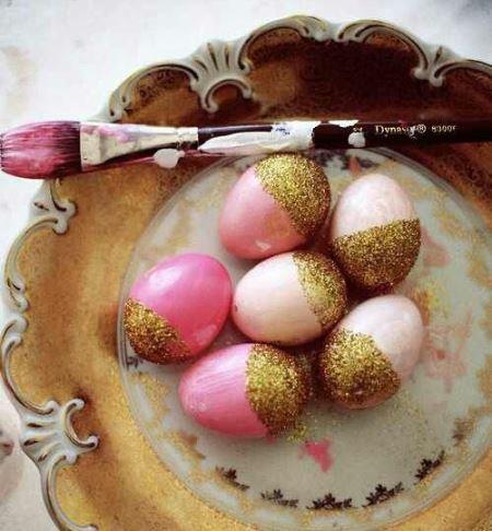 как покрасить яйца, украшения к пасхе, праздничный декор, декор для дома,
