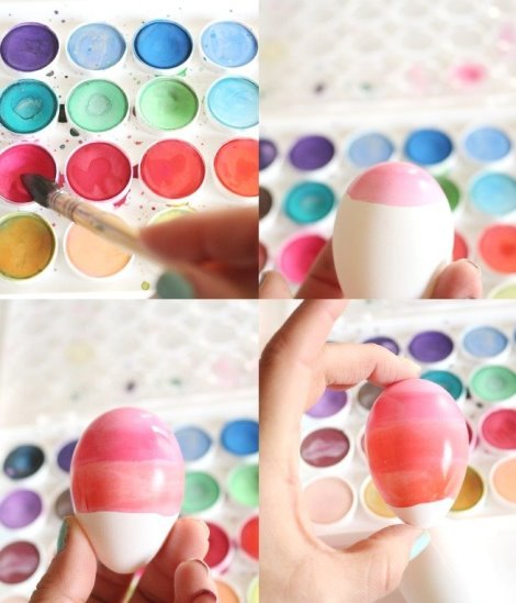 украшения к пасхе, как покрасить пасхальные яйца, необычные оригинальные пасхальные яйца, декор для дома, праздничный декор