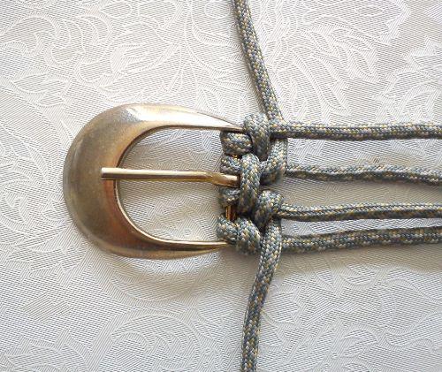 плетеный ремень, как сделать ремень,  как сплести ремень, полезное рукоделие,