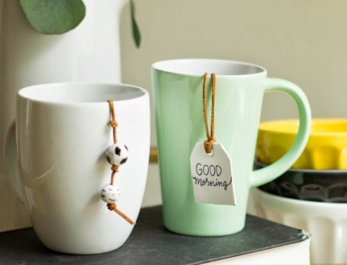 DIY: Ситечко для чая с подвесками