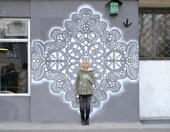 Street Art, уличное искусство, NeSpoon