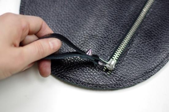 полезное рукоделие, сумка своими руками, клатч своими руками, клатч из кожи