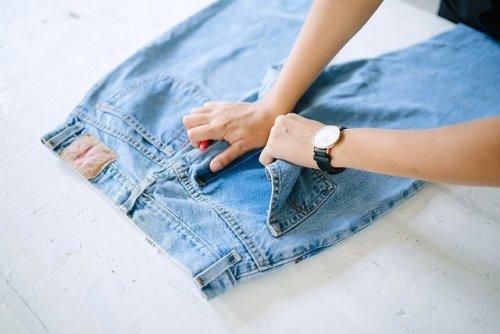 модный способ переделать джинсы