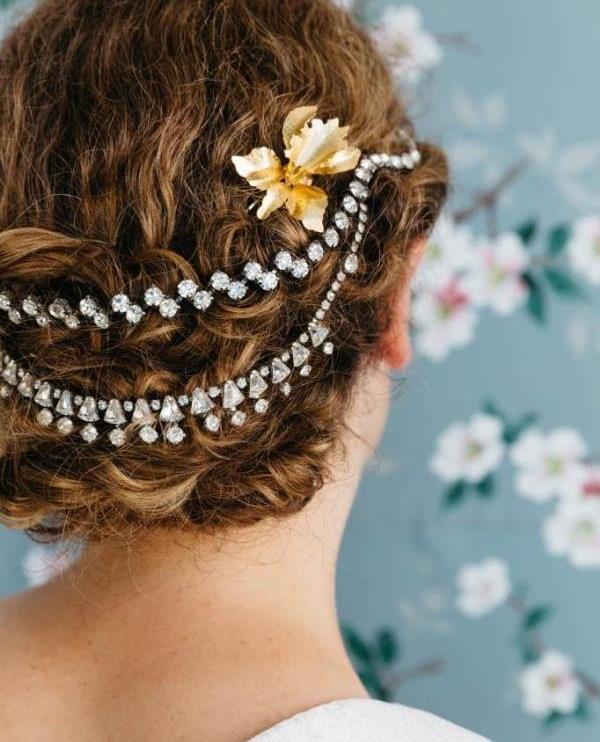 Нарядные украшения для волос своими руками