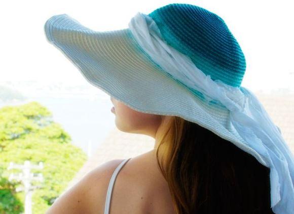 Как украсить соломенную шляпку, как обновить шляпку