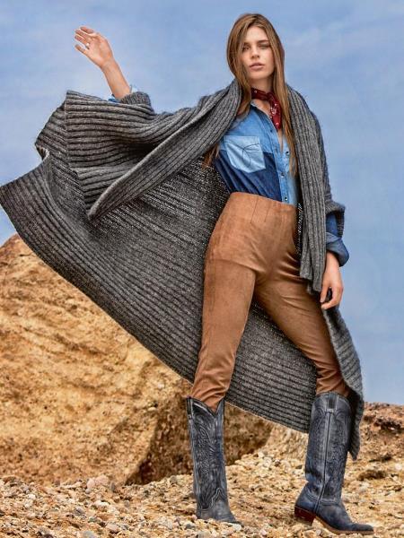 Журнал Бурда 10 2016. Анонс моделей